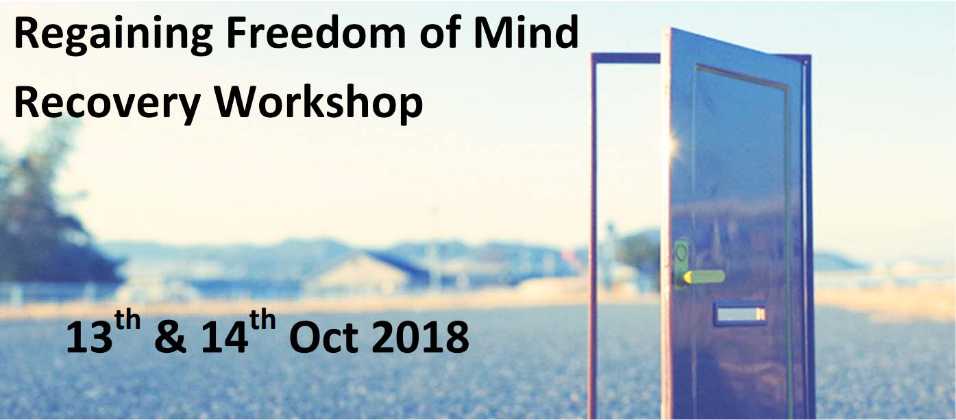 CIFS Freedom of Mind Workshop - Oct 2018